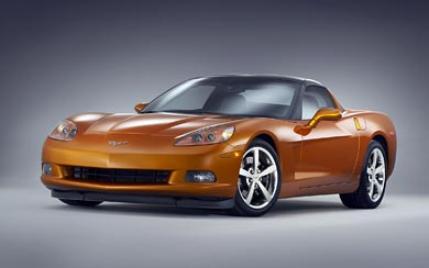 2008 Chevrolet Corvette wallpaper thumbnail.