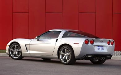 2009 Chevrolet Corvette wallpaper thumbnail.