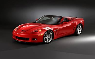2010 Chevrolet Corvette Grand Sport wallpaper thumbnail.