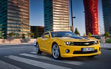 2012 Chevrolet Camaro wallpaper thumbnail.