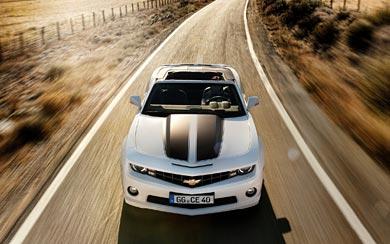 2012 Chevrolet Camaro Convertible wallpaper thumbnail.