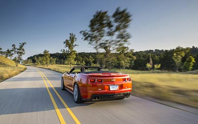 2013 Chevrolet Camaro ZL1 Convertible wallpaper thumbnail.