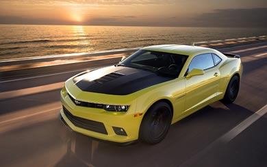 2014 Chevrolet Camaro 1LE wallpaper thumbnail.