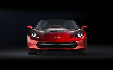 2014 Chevrolet Corvette Stingray Convertible wallpaper thumbnail.