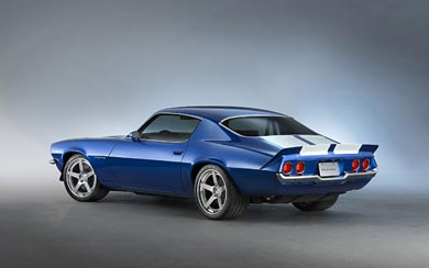2015 Chevrolet 1970 Camaro RS Supercharged LT4 Concept wallpaper thumbnail.