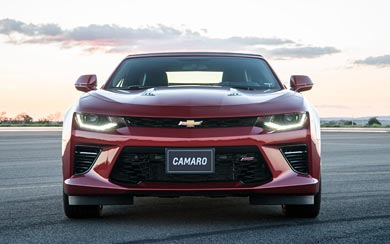 2016 Chevrolet Camaro Convertible wallpaper thumbnail.