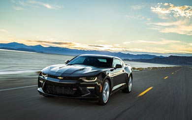2016 Chevrolet Camaro SS wallpaper thumbnail.