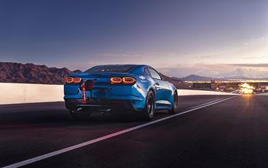 2018 Chevrolet eCOPO Camaro Concept wallpaper thumbnail.