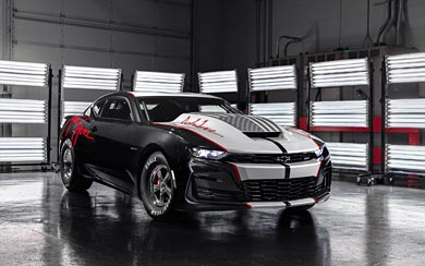 2020 Chevrolet COPO Camaro John Force Edition wallpaper thumbnail.
