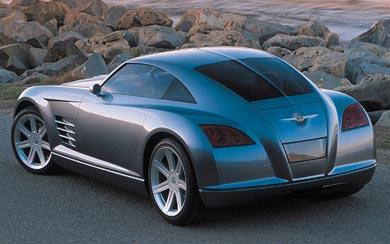 2001 Chrysler Crossfire Concept wallpaper thumbnail.