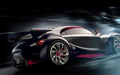 2010 Citroen Survolt Concept wallpaper thumbnail.