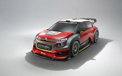2016 Citroen C3 WRC Concept wallpaper thumbnail.