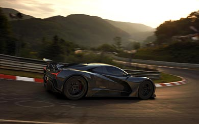 2020 Elation HyperCars Freedom Concept wallpaper thumbnail.