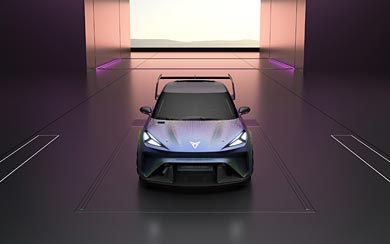 2021 Cupra UrbanRebel Concept wallpaper thumbnail.
