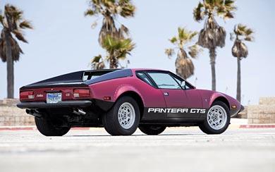 1974 De Tomaso Pantera GTS wallpaper thumbnail.