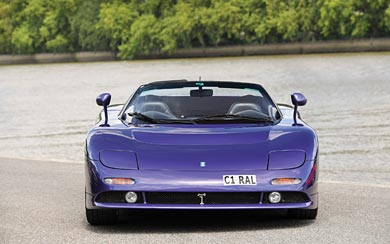 1998 De Tomaso Guara Spider thumbnail.