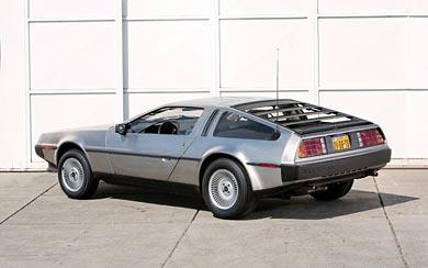 1981 DeLorean DMC-12 wallpaper thumbnail.