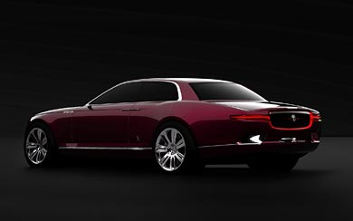 2011 Jaguar B99 Concept by Bertone wallpaper thumbnail.
