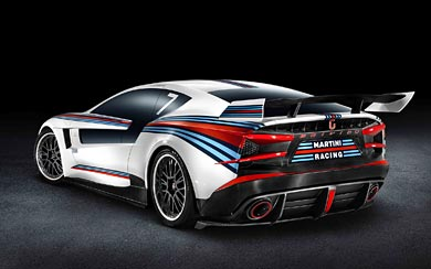 2012 Italdesign Brivido Martini Racing wallpaper thumbnail.