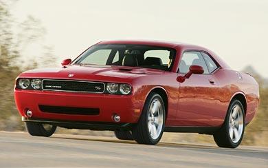 2009 Dodge Challenger R/T wallpaper thumbnail.