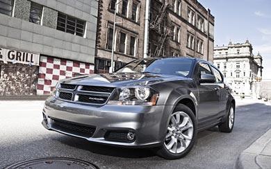 2012 Dodge Avenger R/T wallpaper thumbnail.