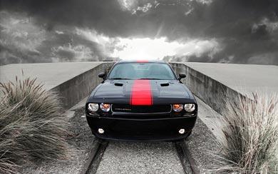 2012 Dodge Challenger Rallye Redline wallpaper thumbnail.