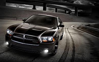 2012 Dodge Charger Blacktop wallpaper thumbnail.