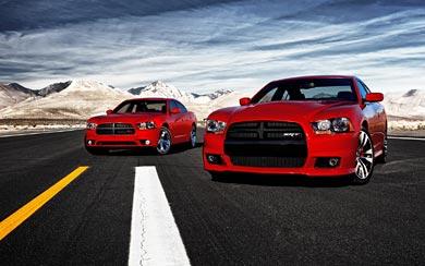 2012 Dodge Charger SRT8 wallpaper thumbnail.