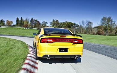 2012 Dodge Charger SRT8 Super Bee wallpaper thumbnail.