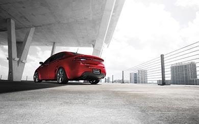 2013 Dodge Dart GT wallpaper thumbnail.