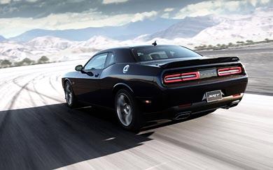 2015 Dodge Challenger SRT Hellcat wallpaper thumbnail.