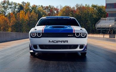 2021 Dodge Challenger Mopar Drag Pak wallpaper thumbnail.