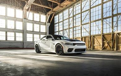 2021 Dodge Charger SRT Hellcat Redeye wallpaper thumbnail.