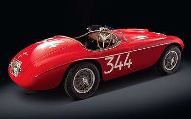 1949 Ferrari 166 MM wallpaper thumbnail.
