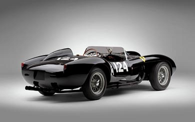1957 Ferrari 250 TR wallpaper thumbnail.