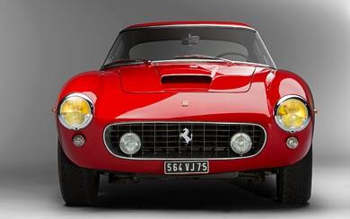 1962 Ferrari 250 GT wallpaper thumbnail.