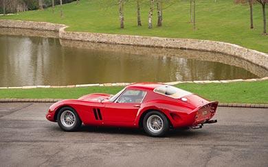 1962 Ferrari 250 GTO wallpaper thumbnail.