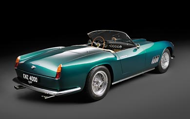 1963 Ferrari 250 GT California Spyder wallpaper thumbnail.