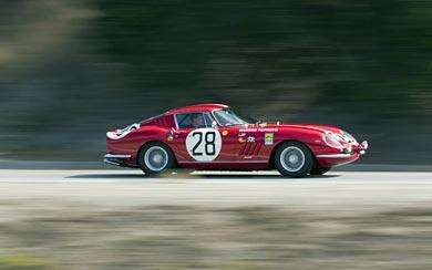 1966 Ferrari 275 GTB Competizione wallpaper thumbnail.