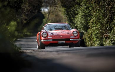 1966 Ferrari Dino 206 GT wallpaper thumbnail.