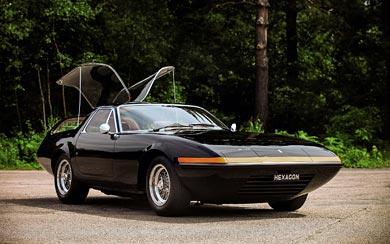 1972 Ferrari 365 GTB/4 Panther Shooting Brake wallpaper thumbnail.