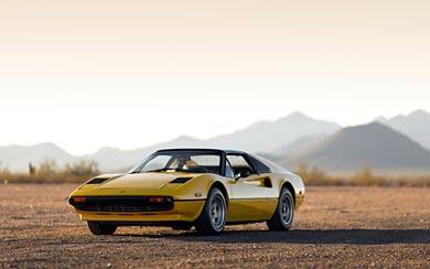 1977 Ferrari 308 GTS wallpaper thumbnail.