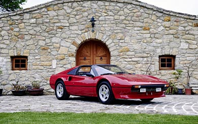 1982 Ferrari 308 GTS wallpaper thumbnail.