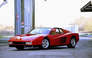 1984 Ferrari Testarossa wallpaper thumbnail.
