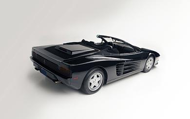 1986 Ferrari Testarossa Spider wallpaper thumbnail.