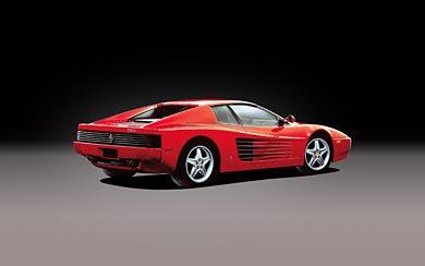 1991 Ferrari 512 TR wallpaper thumbnail.