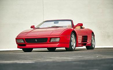 1993 Ferrari 348 Spider wallpaper thumbnail.