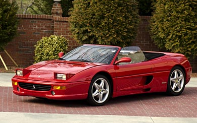 1995 Ferrari F355 Spider wallpaper thumbnail.
