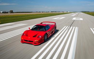 1995 Ferrari F50 wallpaper thumbnail.