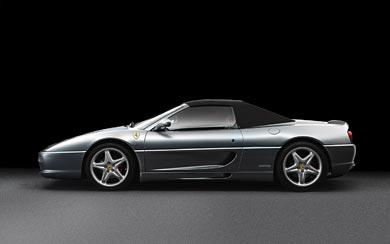 1999 Ferrari F355 Spider Serie Fiorano wallpaper thumbnail.